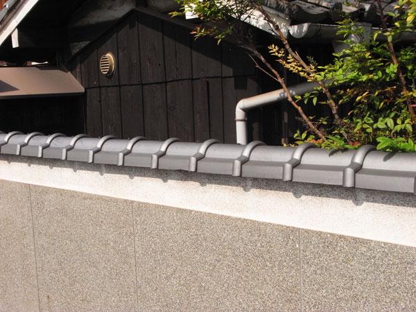 塀付丸施工例